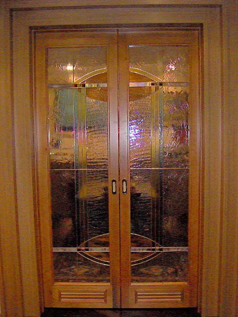 Porta interna in legno