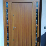 Portoncino in legno dopo manutenzione