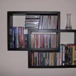 Mensola porta cd in legno
